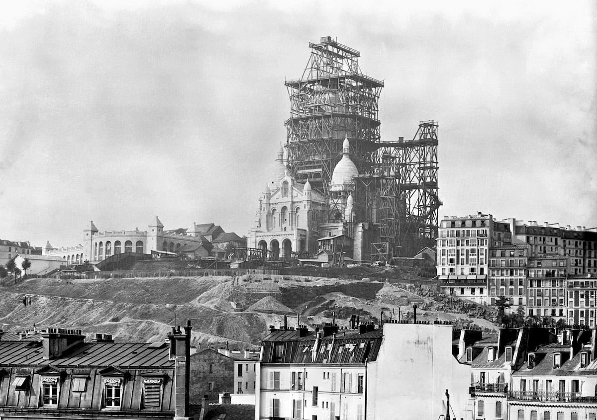 1880 - The Sacre Coeur in Montmarte, Paris - 1