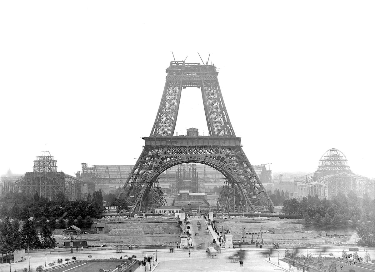1888 - Construction of the Eiffel Tower, Paris