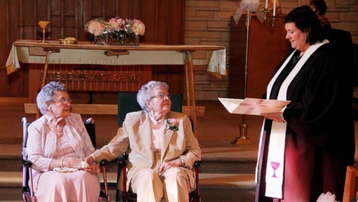 Iowa couple of 62 years finally gets married