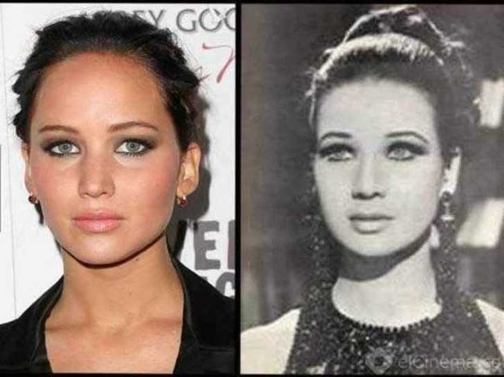 27 Celebrities and their historical lookalikes
