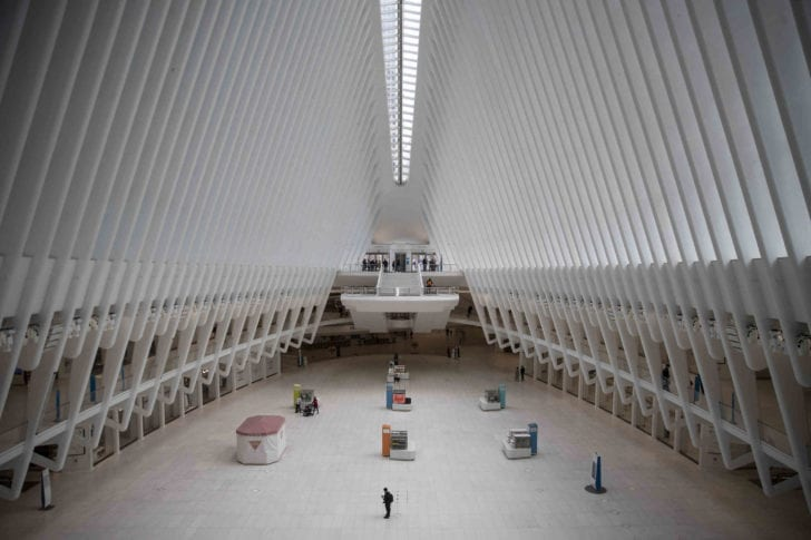 New York | A major transit hub, the Oculus, in a city no longer on the move.