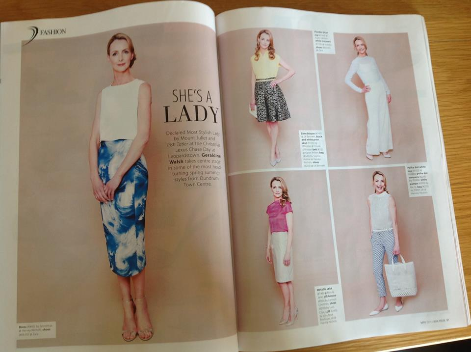 Geraldine for Irish Tatler