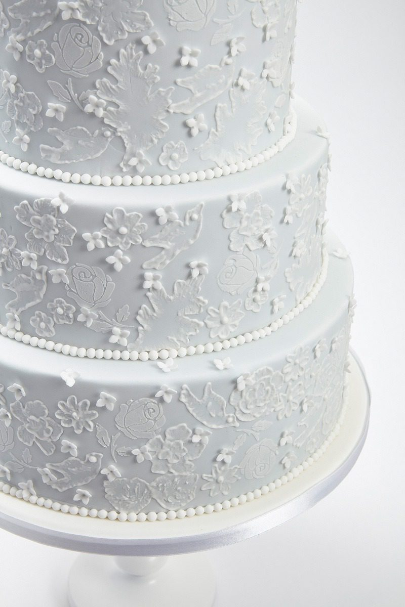 Bluebell Lace | Clare Anne Taylor Couture Cakes